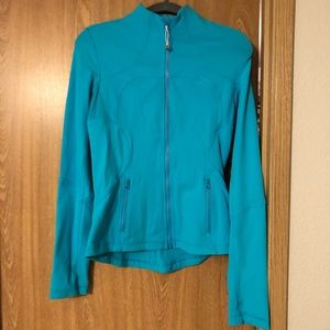 Lululemon athletica zip up jacket Size 8